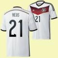 Acheter Des Maillot De Foot Allemagne (Reus 21) 2014 World Cup Domicile Adidas Prix France