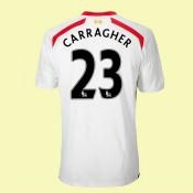 Acheter Des Maillot De Football Liverpool (Carragher 23) 15/16 Extérieur Magasin Paris