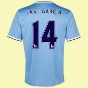 Acheter Des Maillot De Manchester City (Garcia 14) 15/16 Domicile Nike Nouveau