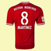 Acheter Maillot De Bayern Munich (Martinez 8) 15/16 Domicile Adidas Soldes Lyon