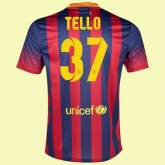 Acheter Maillot De Football (Cristian Tello 37) Barcelone 2014 2015 Domicile Rabais En Ligne