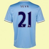Acheter Maillot De Football Manchester City (Silva 21) 15/16 Domicile Nike France