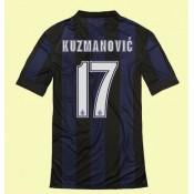 Acheter Maillot De Inter Milan (Kuzmanovic 17) 15/16 Domicile Nike