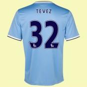 Acheter Maillot De (Tevez 32) Manchester City 2014 2015 Domicile Nike Avec Flocage Officiel Achat