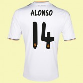 Acheter Maillot Football (Alonso 14) Real Madrid Fc 2014 2015 Domicile Adidas Pas Chére Hot Sale
