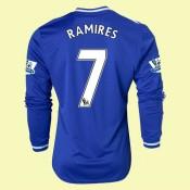 Acheter Maillot Manches Longues Chelsea (Ramires 7) 2015/16 Domicile Adidas Achat À Prix Bas