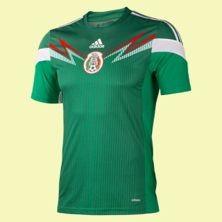 Acheter Maillot Mexique 2014 World Cup Domicile Adidas Fiable