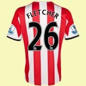 Acheter Un Maillot De (Fletcher 26) Sunderland 2014 2015 Domicile Adidas Retro