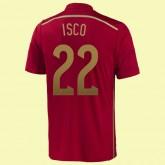 Acheter Un Maillot De Football Espagne (Isco 22) 2014 World Cup Domicile Adidas Pas Cher France
