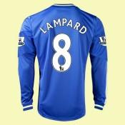 Acheter Un Maillot De Manches Longues Chelsea (Lampard 8) 2015/16 Domicile Adidas Original