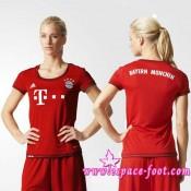 Acheter Un Maillot Foot Bayern Munich 2015/2016 Femme Domicile En Ligne Acheter