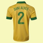 Acheter Un Maillot Foot (Dani Alves 2) Brésil 15/16 Domicile Avignon