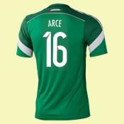 Acheter Un Maillot Foot Mexique (Arce 16) 2014 World Cup Domicile Adidas