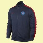 Acheter Un Veste De Football Psg 15/16 Noir #3185 Shop France