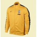 Acheter Un Veste Football Juventus 2014-2015 Jaune Vintage #3190 Vente Privee