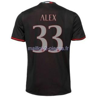 Alex AC Milan Maillot Domicile 2016/2017