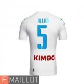 Allan Napoli Maillot Exterieur 2016/2017