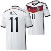 Allemagne Maillot De Football Domicile Coupe Du Monde 2014 Adidas(11 Klose) Pas Cher Lyon