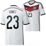 Allemagne Maillot De Football Domicile Coupe Du Monde 2014 Adidas(23 Gomez) Fashion Show