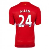 Allen Liverpool Maillot Domicile 2016/2017