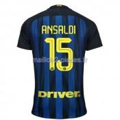 Ansaldi Inter Milan Maillot Domicile 2016/2017
