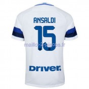Ansaldi Inter Milan Maillot Exterieur 2016/2017