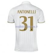 Antonelli AC Milan Maillot Exterieur 2016/2017