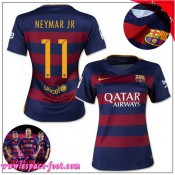 Barcelone Maillot Neymar Jr Femme 2015-16 Game Domicile Maillots De Foot Neymar Jr 2015-16 France Site Officiel