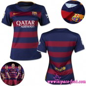 Barcelone Maillots Femme 2015 2016 Game Domicile Maillot Foot 2015 2016 Soldes Alsace