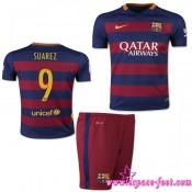 Barcelone Maillots Suarez Baby Kits 2015/16 Game Domicile Maillots De Foot Suarez 2015/16 Site Francais