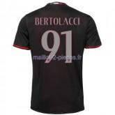Bertolacci AC Milan Maillot Domicile 2016/2017