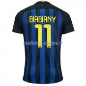 Biabiany Inter Milan Maillot Domicile 2016/2017