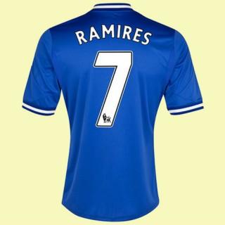Boutique De Maillot De Foot (Ramires 7) Chelsea 2014 2015 Domicile Prix France