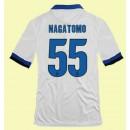 Boutique De Maillot Foot Inter Milan (Nagatomo 55) 15/16 Extérieur Nike