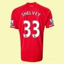 Boutique De Maillot Football Liverpool (Shelvey 33) 15/16 Domicile