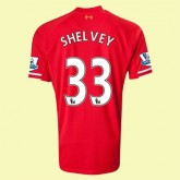 Boutique De Maillot Football Liverpool (Shelvey 33) 15/16 Domicile