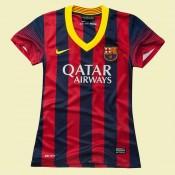 Boutique Maillot De Foot Femme Barcelone 2014 2015 Domicile #3143 Code Promo