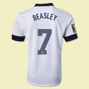 Boutique Maillot De Foot Usa (Beasley 7) 2014 2015 Domicile Nike Réduction