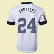 Boutique Maillot De Football Usa (Gonzalez 24) 2014 2015 Domicile Nike Rabais