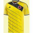 Boutique Maillot Du Foot Colombie 2014 World Cup Domicile Adidas Achat