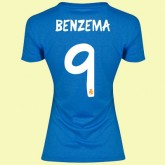 Boutique Maillot Femmes Fc Real Madrid (Benzema 9) 15/16 Extérieur Adidas
