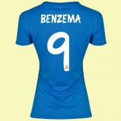 Boutique Maillot Femmes Fc Real Madrid (Benzema 9) 15/16 Extérieur Adidas