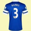 Boutique Maillot Foot (Baines 3) Everton 2014 2015 Domicile