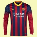 Boutique Maillot Foot Manches Longues Fc Barcelone 15/16 Domicile Nike Collection