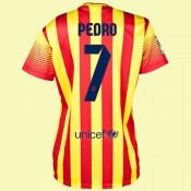 Boutique Maillot Football Femme Barcelone (Pedro 7) 15/16 Extérieur Nike Pas Cher