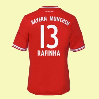 Boutique Maillot (Rafinha 13) Bayern Munich 2014 2015 Domicile Adidas Soldes Provence