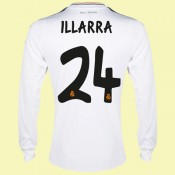 Boutique Maillots Manches Longues (Illarra 24) Fc Real Madrid 2014 2015 Domicile Adidas En Ligne Site Francais