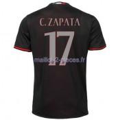 C.Zapata AC Milan Maillot Domicile 2016/2017