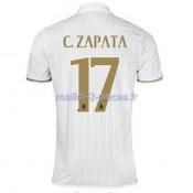 C.Zapata AC Milan Maillot Exterieur 2016/2017