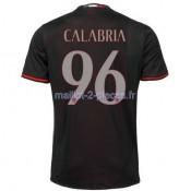 Calabria AC Milan Maillot Domicile 2016/2017